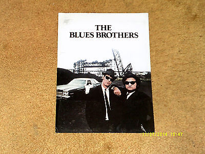 John Belushi BLUES BROTHERS movie press kit '79:custom folder, 13 pp. of credits