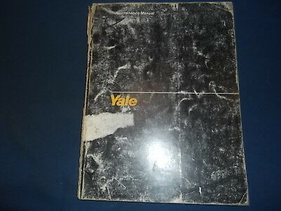 Yale Mlw Mpw Mtw Mle Mpe-mpc Mtwr Electric Forklift Parts Manual Book Itd-1450