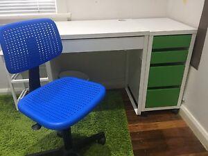 Kids desk and chair Peakhurst Hurstville Area Preview