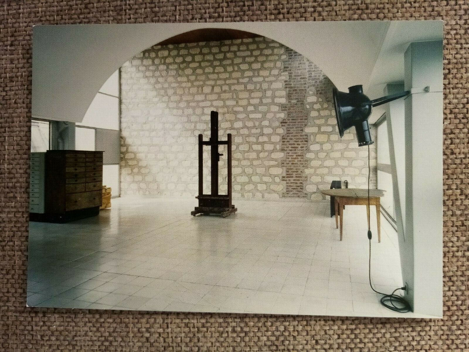 Cpsm cpm paris immeuble molitor appartement atelier le corbusier