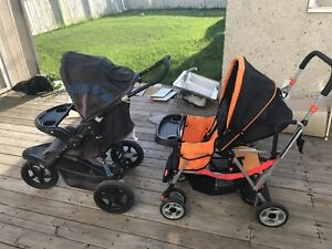 2 STROLLERS FOR CHEAP first come first serve OBO