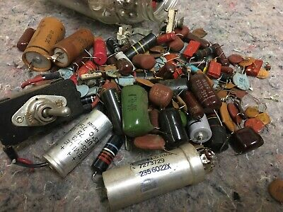 Lot Of Vintage Electrical Components-lot A