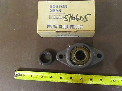 Boston Gear Pillow Block Bearing 5t-1-06992 1 Shaft 2 Bolt Flange 06992-5t-1