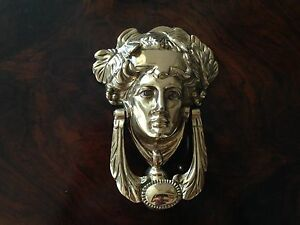 Brass door knocker Chatswood Willoughby Area Preview