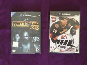 Nintendo Game Cube Wrestlemania/NHL