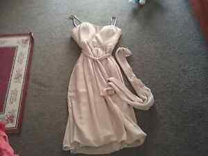 Beautiful beige evening dress BNWOT  never worn Brookfield Melton Area Preview