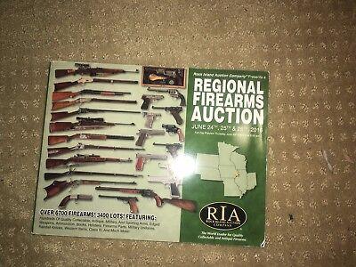 Rock Island Auction Premiere Gun Firearm Regional Catalog June 2016