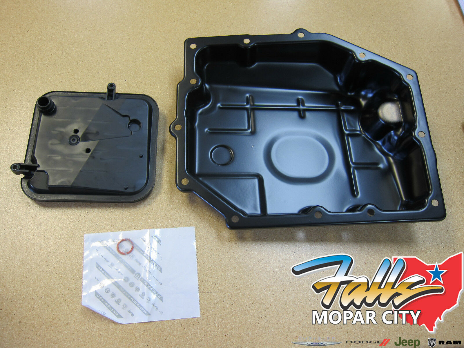 2003 2012 Chrysler Jeep Dodge Ram Transmission Oil Pan Amp Filter Mopar Oem Ebay