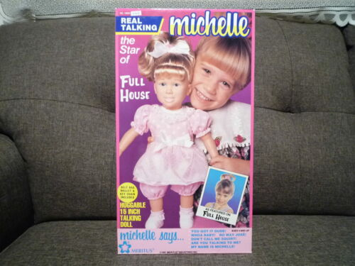 Vintage Meritus FULL HOUSE Real Talking MICHELLE Doll ~ Factory Sealed ~ 1991