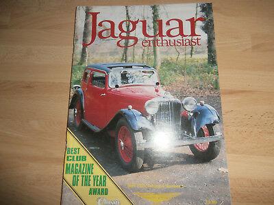 JAGUAR ENTHUSIAST 1993.XJ6 Resto' 12.XJS Coupe rebuild.Swallow SS.Spares.Adverts