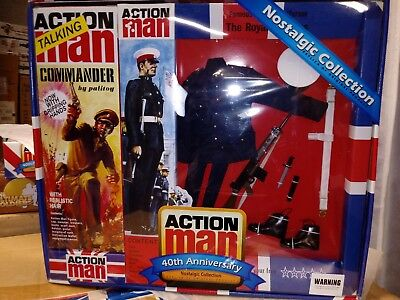 Used, Action Man Royal Marine & Army Officer 1/6 for sale  Shipping to India