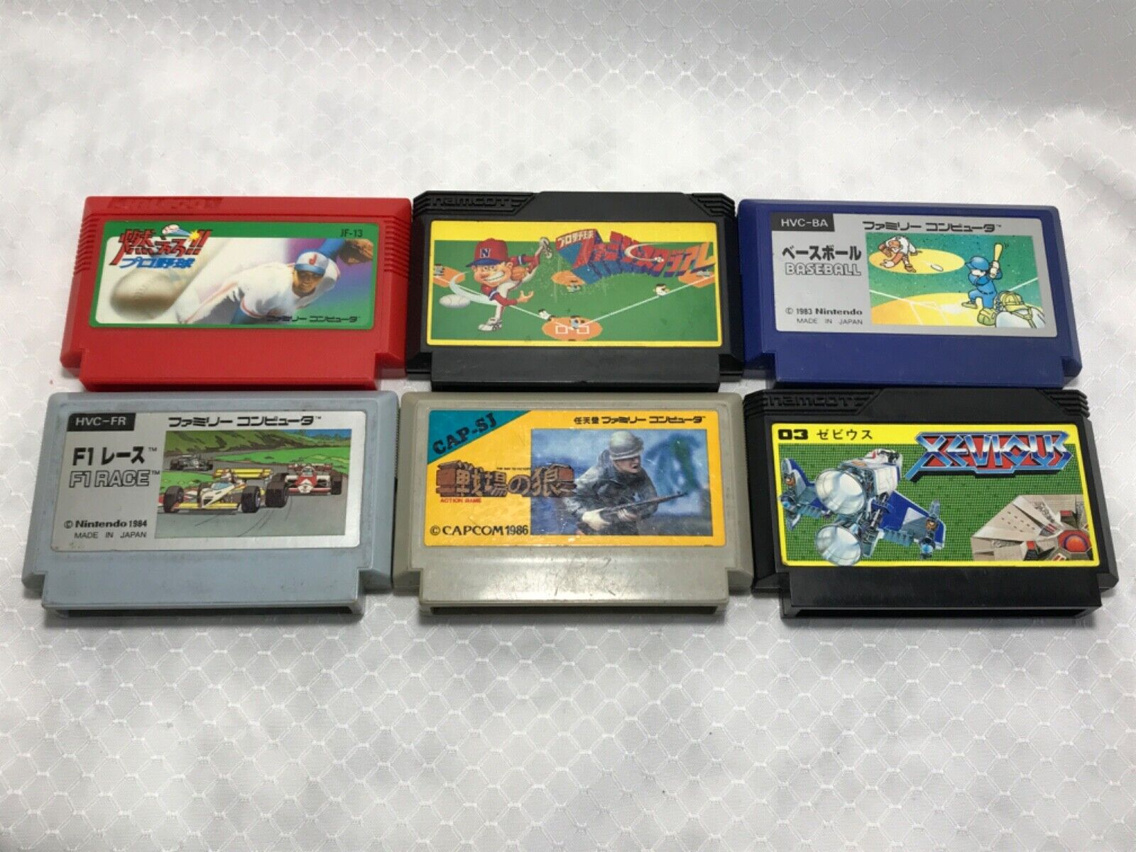 Computer Games - Nintendo Family Computer, Famicom LOT of 6 games US Seller 💥 TESTED 💥