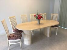 Italian marble dinning set for 6 Dandenong Greater Dandenong Preview