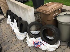MUST SELL TODAY! Cheap offer / 3 winter & 4 summer tires
