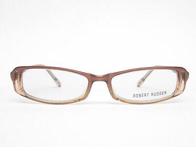 Robert Rüdger Glasses 2685 Plastic Glasses Frames Braun Transparent Oval (Clear Eyeglass Frames Trend)
