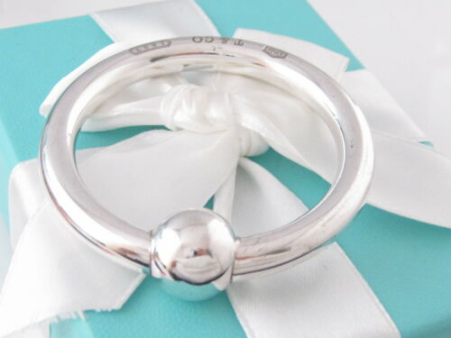 TIFFANY & CO 1837 SILVER CIRCLE RATTLE PACKAGING
