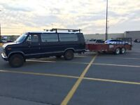 Truck Hitch Trailer for hire Moving -Towing Scrap pickup