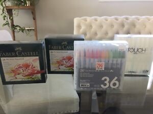 Brand New High End Art Pen/Marker Sets