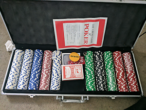 500 pc Poker set : like brand new North Strathfield Canada Bay Area Preview
