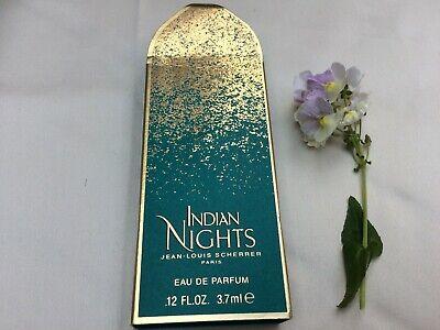 Miniature Vintage Jean Louis Scherrer 'Indian Nights'  EDP. 3.7ml   #121