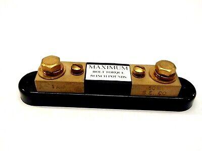 Simpson Electric S.e Co. 50mv 1 Amp Current Shunt