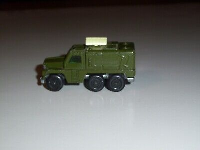 MATCHBOX SUPERFAST #16 BADGER ARMY GREEN GOOD CONDITION