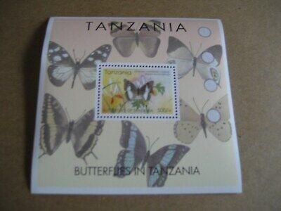 TANZANIA   2005   BUTTERFLIES OF TANZANIA SOUVENIR SHEET