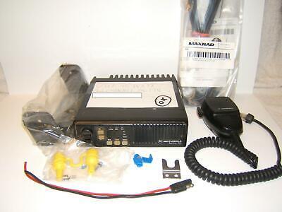 Motorola Maxtrac 16 Pin Vhf 45w Mobile Radio D43mja7da5ck Package 32 Ch Murs