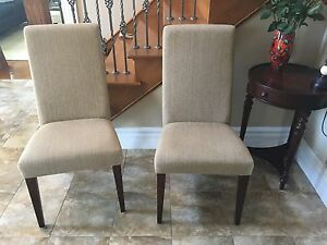 Pair of occasional chairs