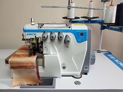 JACK E4 - 4 Thread Overlocker Direct Drive Motor Industrial Sewing Machine