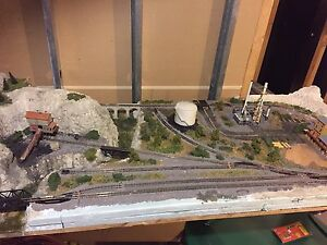 N scale train layout Calgary Alberta image 1