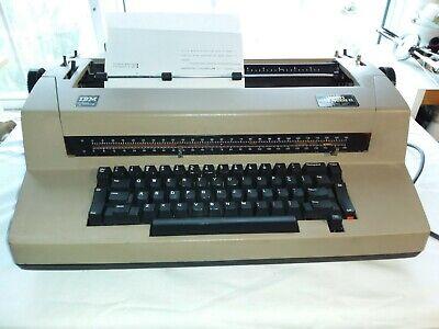 Ibm Correcting Selectric Iii Typewriter Working