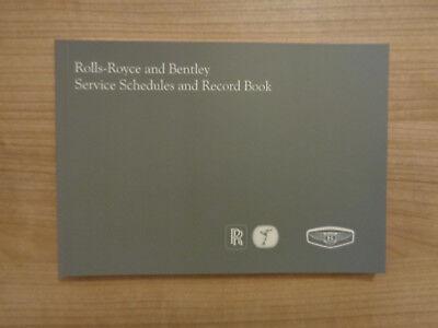 Rolls Royce/Bentley Service History Book