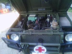 1986 Iltis jeep with rear gas heater...great condition