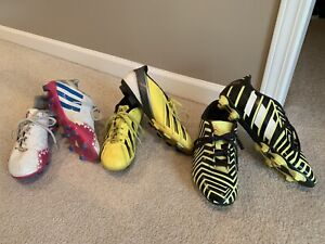 Adidas soccer cleat lot. Just in time for the soccer season!