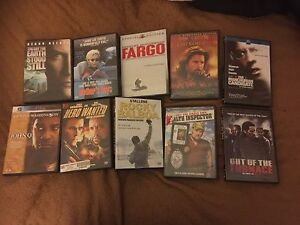 DVD movie collection (Variety)