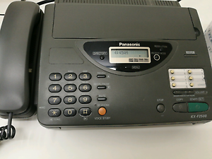 Panasonic Telephone and Fax Machine Wakerley Brisbane South East Preview