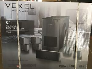Vokel home theatre system unopened