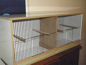flight cage large or display cage with removable divider Hinchinbrook Liverpool Area Preview