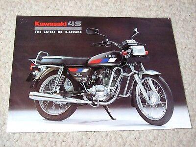 1980's K BAJAJ 4S (INDIA) SALES BROCHURE.....