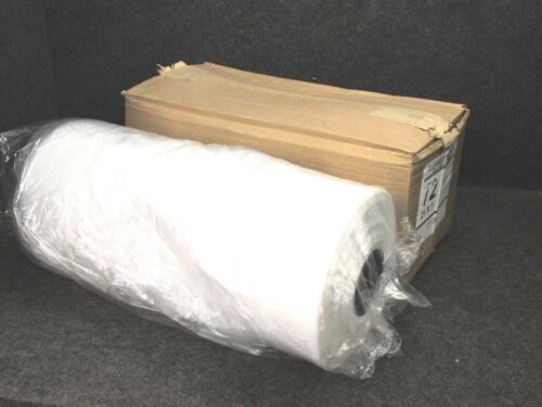 """NEW! DRY CLEANING GARMENT BAGS, CLEAR POLY, 72"""" x 21"""" x 7"""", FULL ROLL!"""