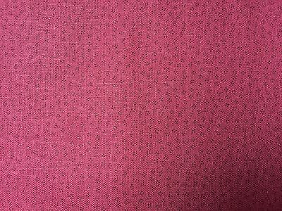 Red Maroon FQ Fat Quarter Fabric Dots Patterns Blended 100% Cotton Quilting