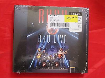 R40 Live [Digipak] by Rush NEW SEALED 3 Discs, Revolver Music prog hard rock