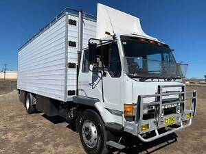 Mitsubishi FM557 Turbo 4x2 Pantech Truck. One owner ex ABC TV. Inverell Inverell Area Preview