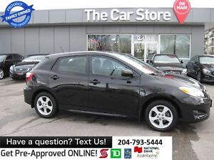2014 Toyota Matrix sunrOOF BLUETOOTH 1owner LOCAL MB