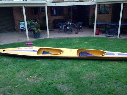 K2 Kayak with 2 paddles West Lakes Shore Charles Sturt Area Preview