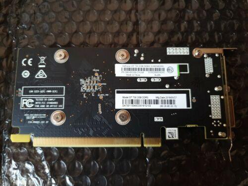 Grafikkarte GeForce GT 730 2GB DDR3 zwei Tage benutzt