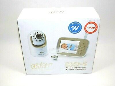 used - Infant Optics DXR-8 Video Baby Monitor with Interchangeable Lens