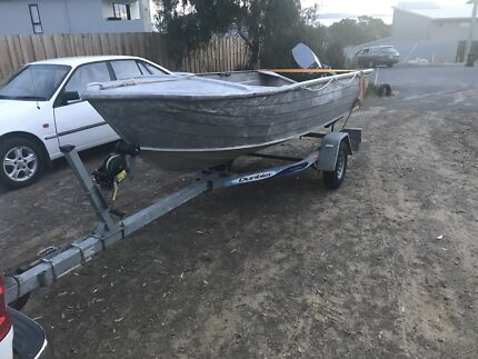 12ft tinnie 15hp Yamaha