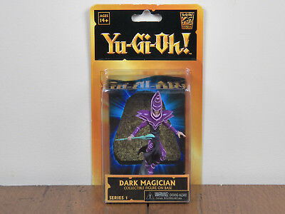 "Yu-Gi-Oh 4"" Dark Magician Series 1 Action Figure On Base Neca Yugioh *BRAND NEW*"